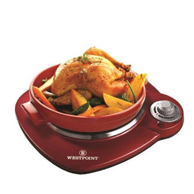 Westpoint-Wf-271---Deluxe-Hot-Plate---Red