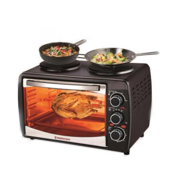 Westpoint-Wf-3000Rkh---Deluxe-Grilling-Oven-Toaster---Black
