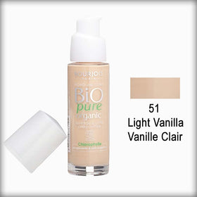 Bourjois Bio Detox Organic Foundation 51 Light Vanilla