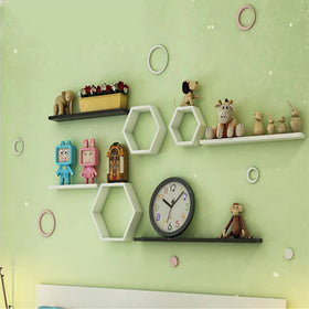 Touchwood Interior Diamond Floating Wall Frame