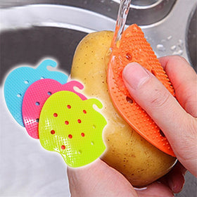 Multi-functional Fruit Vegetable Brush