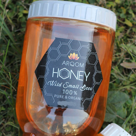 Arqom100% Pure & Organic Honey 1000/500 Grms
