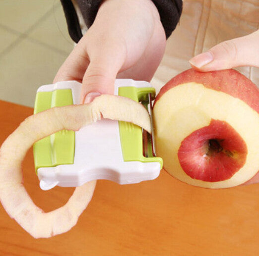 Creative kitchen scalable portable apple cucumber potato multi-functional fruit peeler paring knife - HomeBazar.pk - 1