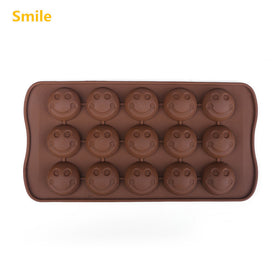 9 Kinds 3d  Christmas Silicone Chocolate Mold  Shell Heart Round  Decorate Jelly Ice Molds Cake Mould Bakeware - HomeBazar.pk - 7