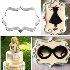 4pcs / lot  European Wedding Frame Metal Cookie Cutters Biscuits Stainless Steel Tools Kitchen Baking Mould - HomeBazar.pk - 4