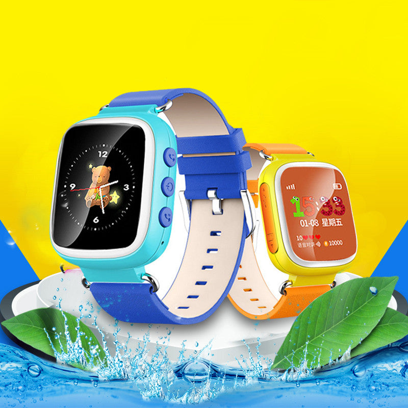 gps child tracking  bracelet watch wristwatches for kids children app for iphone ios android big and full-color screen #Tim179 - HomeBazar.pk - 2