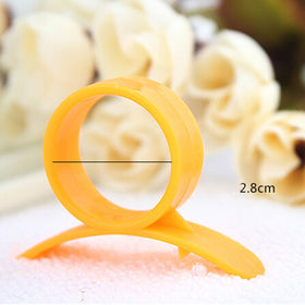 3 Pcs Creative Kitchen Gadgets Cooking Tools Peeler Parer Finger Type Cleverly Open Orange Peel Orange Device - HomeBazar.pk - 4