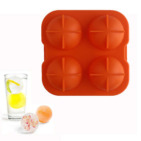 Sphere Big Round Ball Ice Brick Cube Maker - HomeBazar.pk - 1