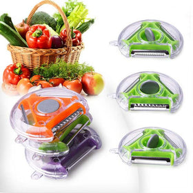 3 in 1 Peeler Grater Slicer Vegetable ferramentas peeler Kitchen tools Gadget Household utensilios de cozinha cooking tools - HomeBazar.pk - 2