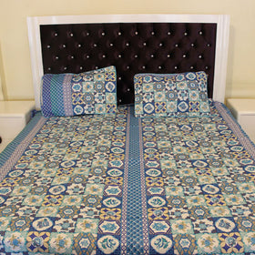Multi Color Bed Sheet, Home Bed Sheet - HomeBazar.pk - 1