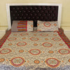 3Pc Beautiful Home Bed Sheet - HomeBazar.pk - 1