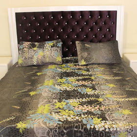 3Pc Multi Color Beautiful Home Bed Sheet - HomeBazar.pk - 2