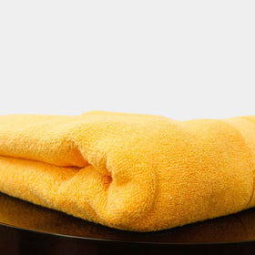 home-bazar-egyptian-cotton-towel-yellow
