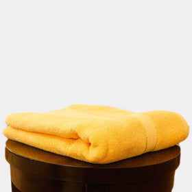 Egyptian Cotton Towel Yellow