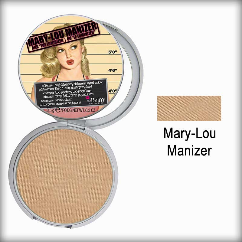 the Balm Mary-Lou Manizer Highlighter, Shadow & Shimmer