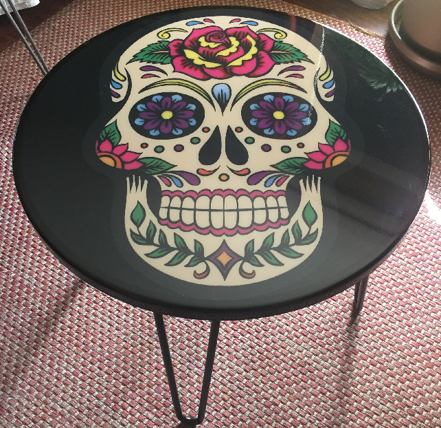 Delicieux Sugar Skull Coffee Table