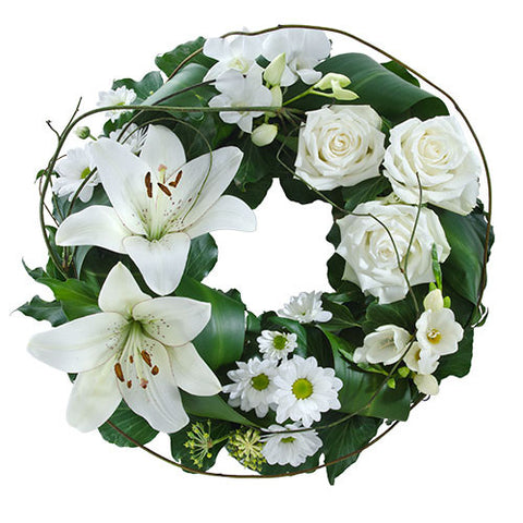 Wreath of White