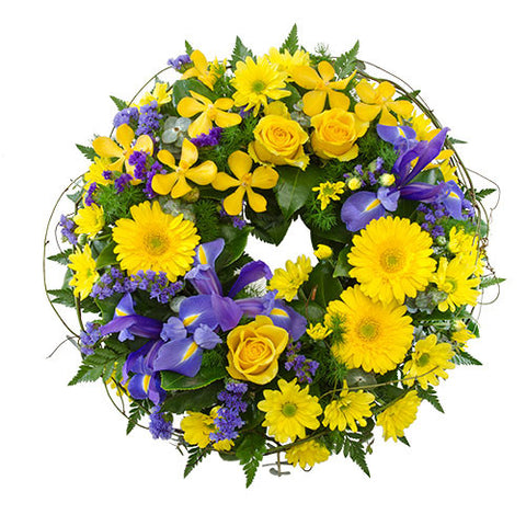 Wreath of colour