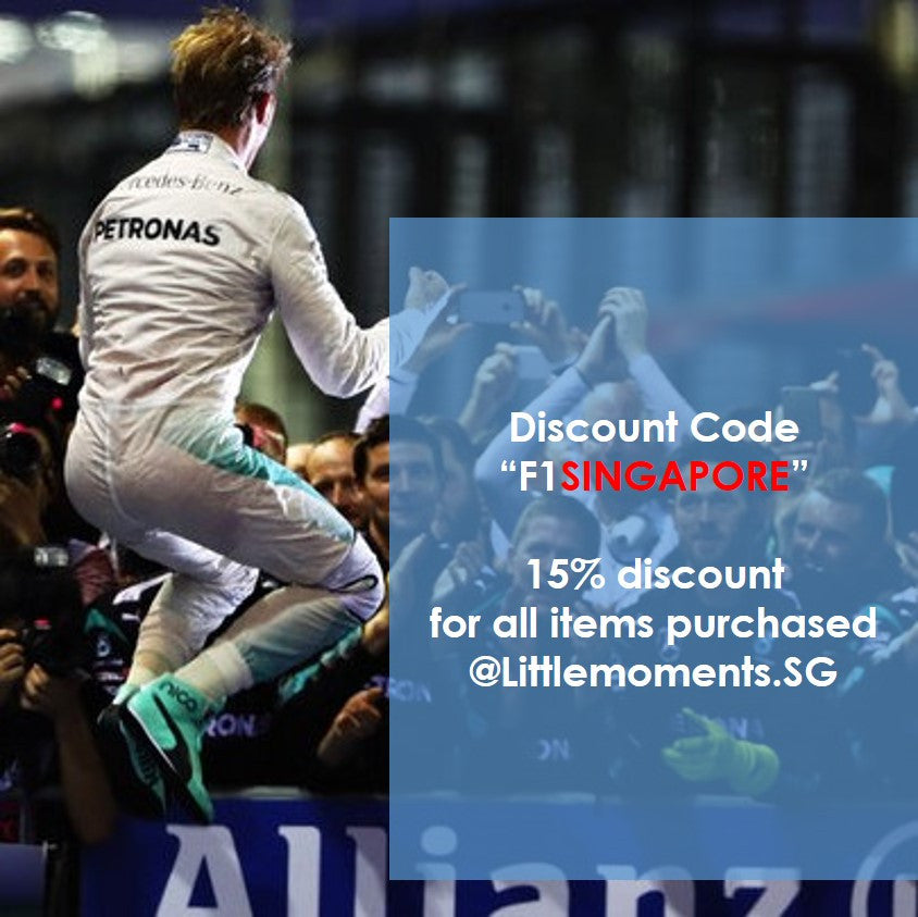 Speical Discount for F1Singapore