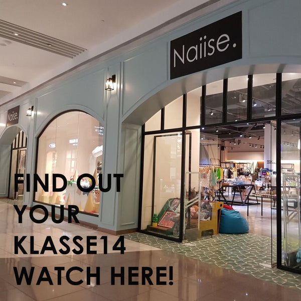 Klasse14 availabe at Naiise, featuring Little Moments Singapore