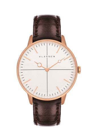 Disco Volante Rosegold Brown 36mm