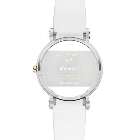 Imperfect White Square 42mm