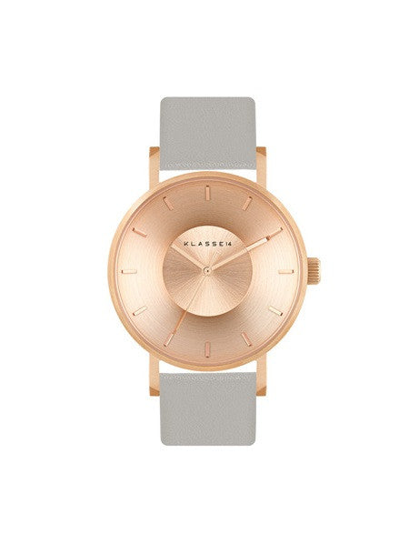 Iris FW Rosegold Grey 36mm