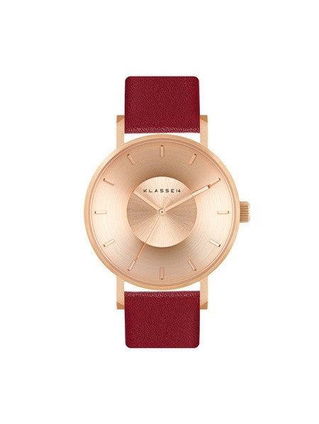 Iris FW Rosegold Red 36mm