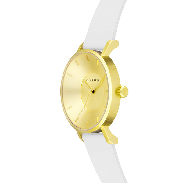 Iris Gold White 36mm