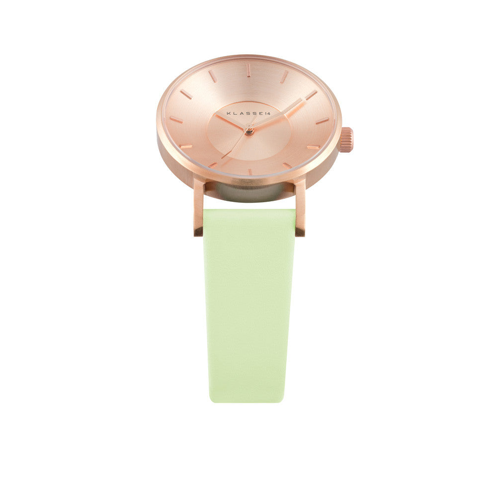 Iris Rosegold Mint 36mm