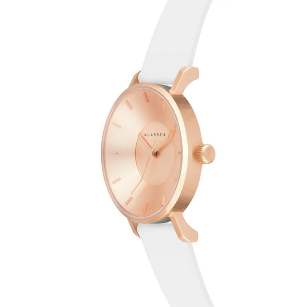 Iris Rosegold White 36mm