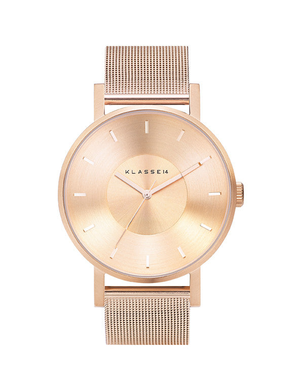 Volare Rosegold meshband 42mm
