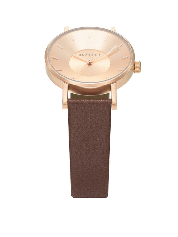 Volare Rosegold Brown 36mm