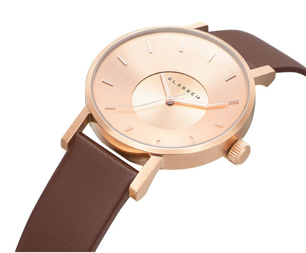 Volare Rosegold Brown 42mm