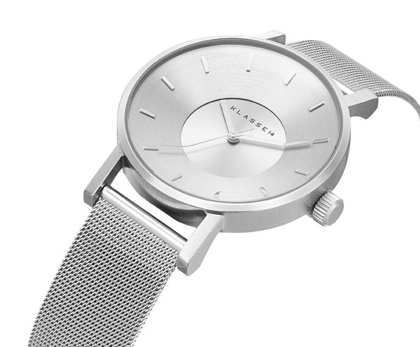 Volare Silver meshband 42mm