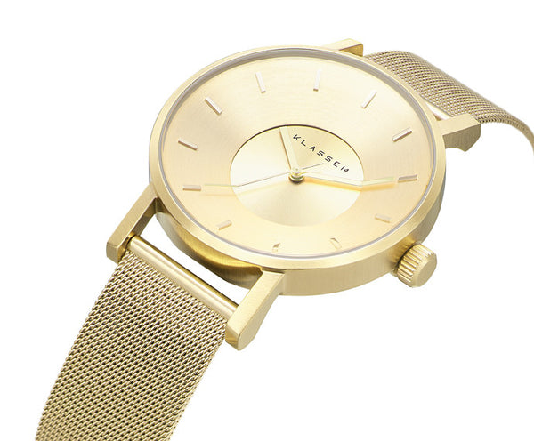 Volare Gold meshband 42mm