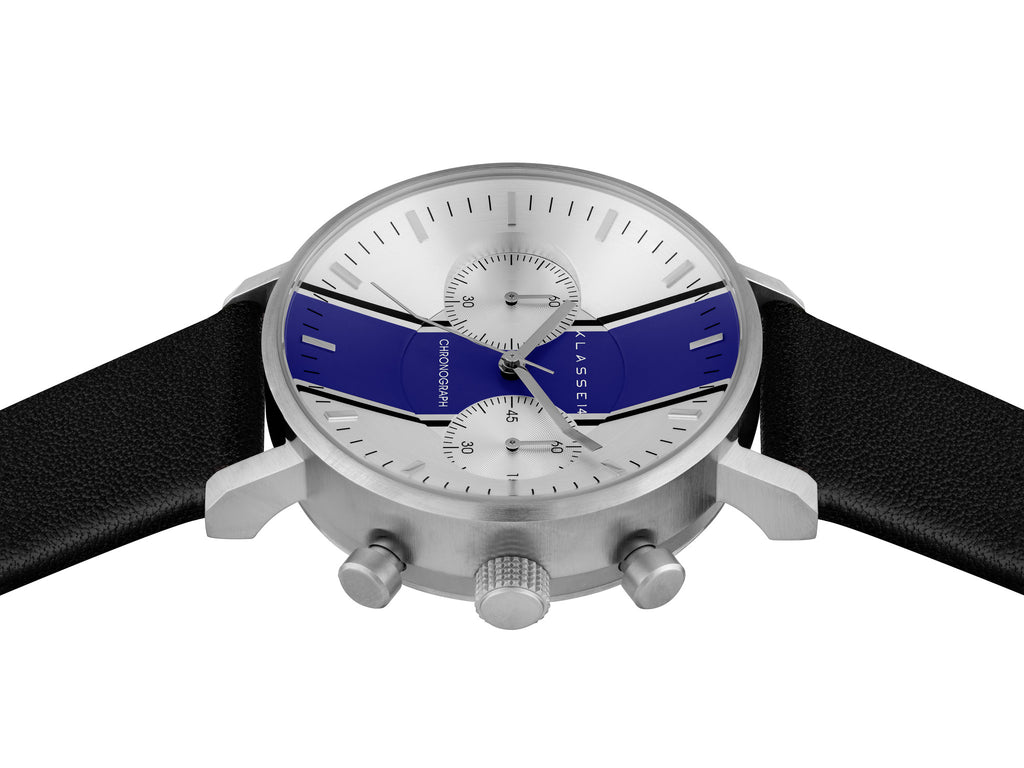 Chronograph GT14 Silver Blue 42mm