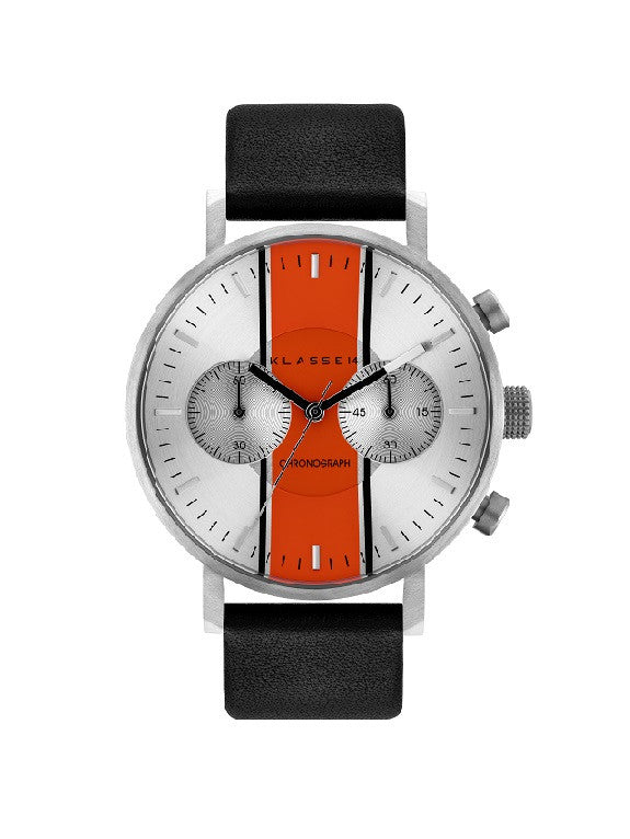 Chronograph GT14 Silver Orange 42mm