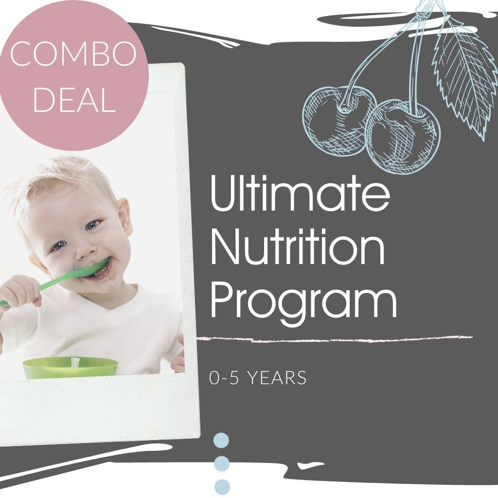 Little Ones Programs Ultimate Nutrition Program (0-5 Years)