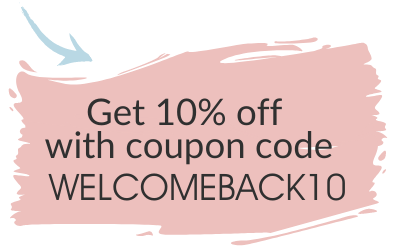 Get 10% off witjh coupon code WELCOMEBACK10