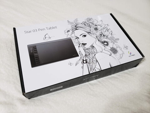 XP-Pen Star 03 (Open Box Tablet)