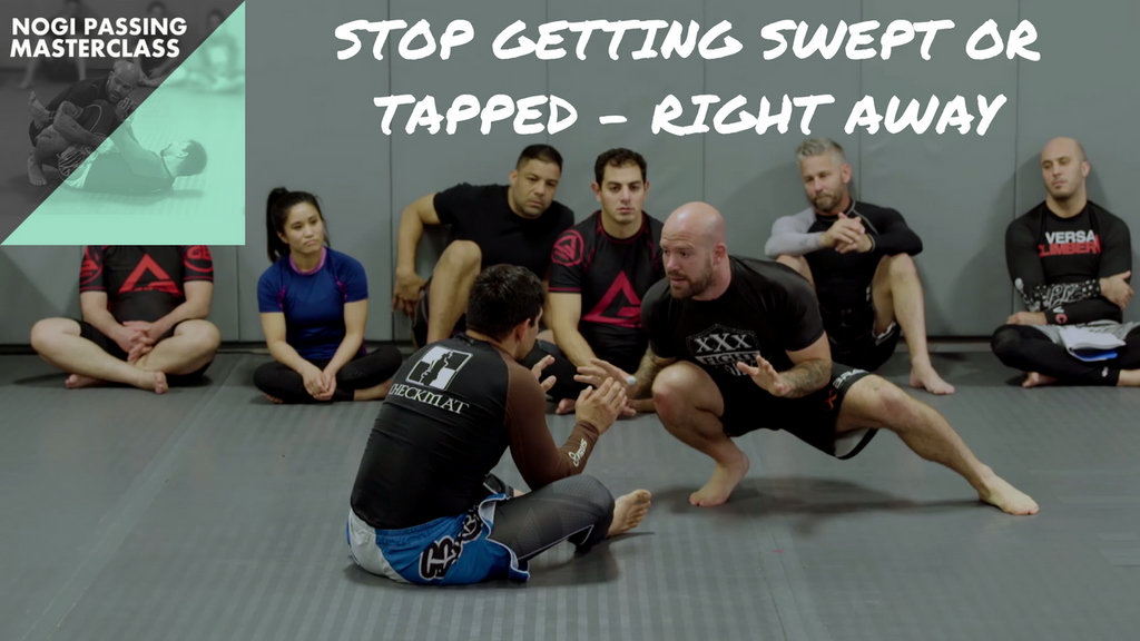 Nogi Passing Masterclass Clip - Where to start passing?