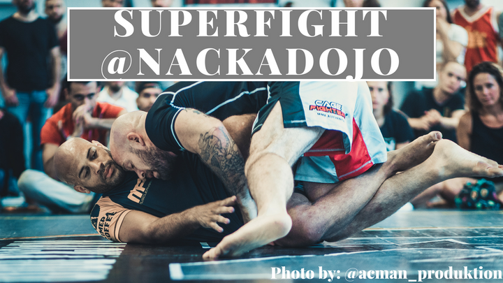 Superfight video vs. Matthew Tesla of the DDS in Stockholm (Nacka Dojo)