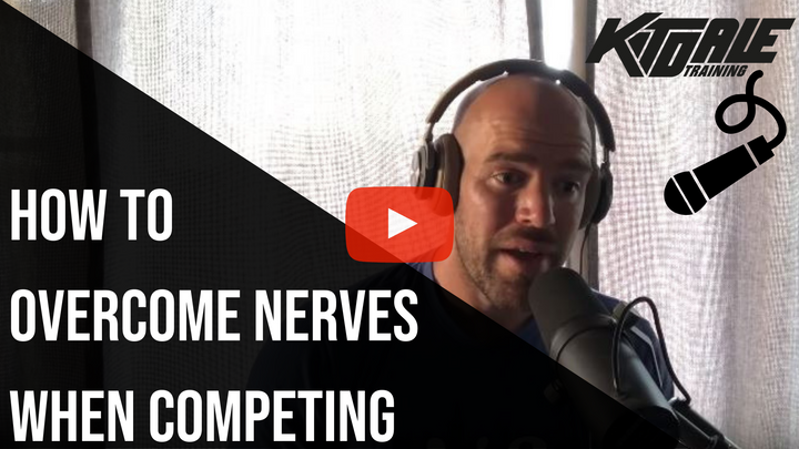 How to overcome NERVES when competing