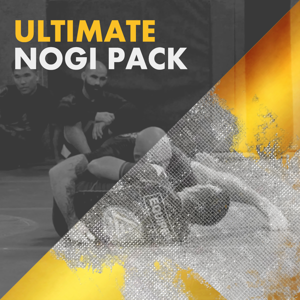 ULTIMATE NOGI PACK - (AOL Vol. 3, NoGi Gripping Masterclass, Backtake Masterclass, NoGi Passing Masterclass)