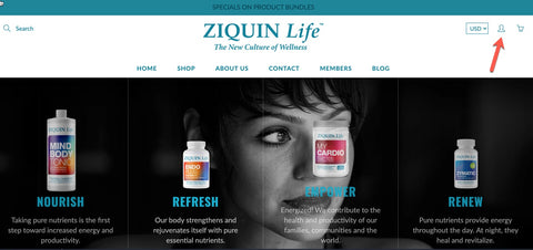 How to manage your ZIQUIN Life membership