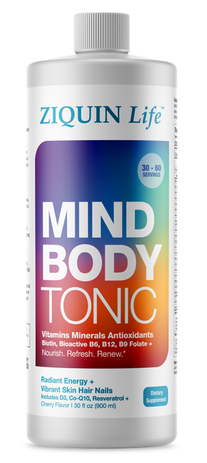Mind Body Tonic - 30 fl oz  Regular $75 Now $70)