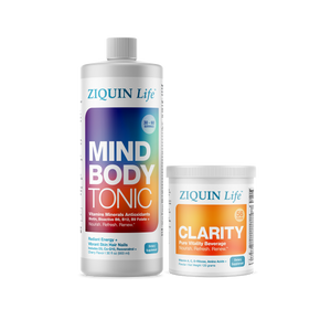 Mind Body Tonic + Clarity Collection (Regular $135, Now $115)