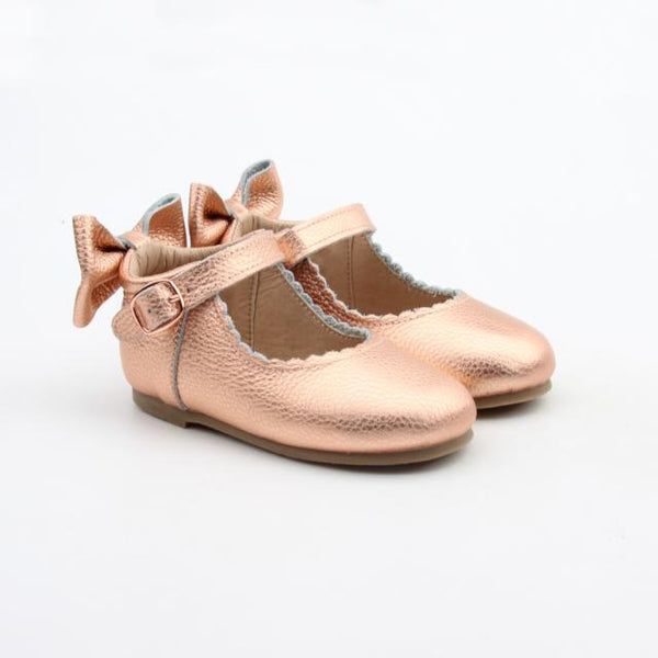 'Dolly-Rose' Dolly Shoes - Hard Soles