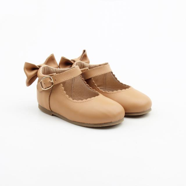 'Birthday Suit' Dolly Shoes - Toddler Hard Sole